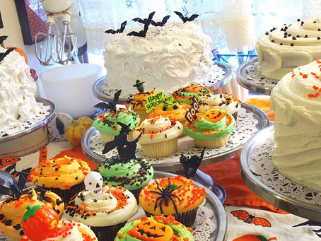 Halloween Cake and Cupcakes Ideas!