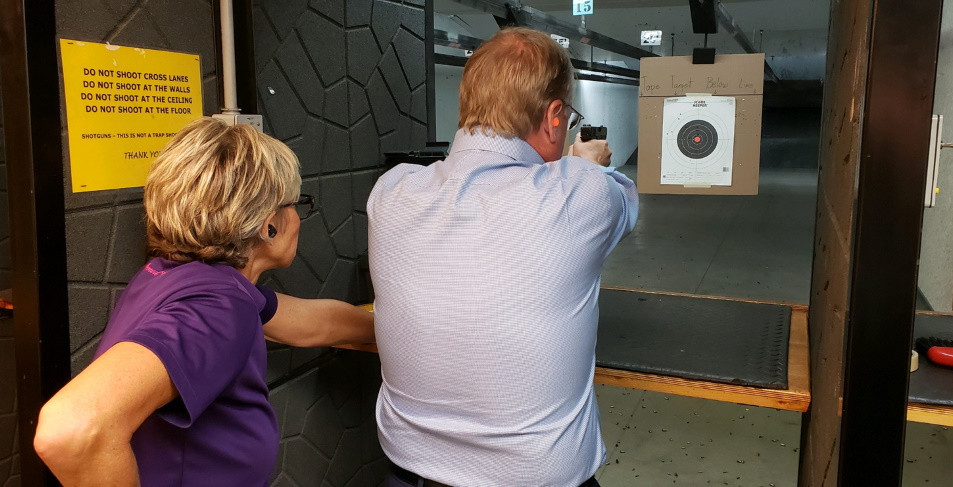 I had the honor of working with Congressman Jim Hagedorn, a member of the United States House of Representatives from Minnesota's 1st congressional district last fall. He wanted to a refresher course on safety and a tuneup on his shooting skills. He is a good shot and a great representative to the fine people of southern Minnesota.