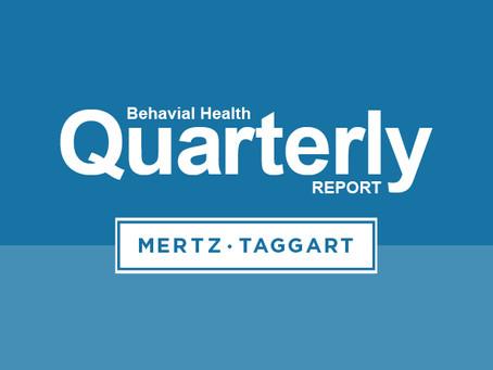 Behavioral Health M&A Report: Q1 2020