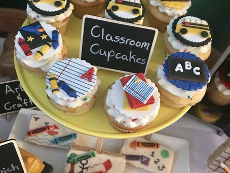 COME BACK SCHOOL - Easy cupcakes idea!