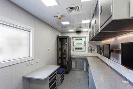 Figure 2: Modular laboratory, one of over 800 gobally certified workspace modules availabe for MARV configured vessels.