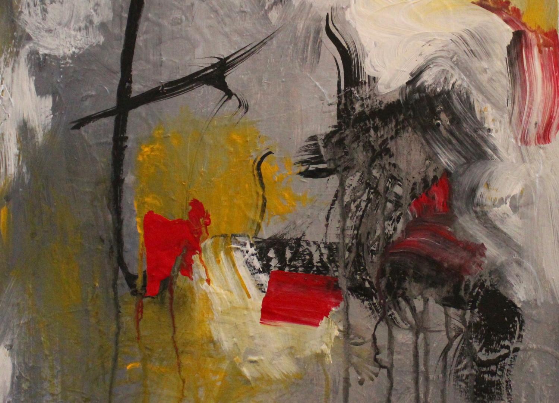 Wild Note Acrilic on Canvas 16 x 16 .jpe