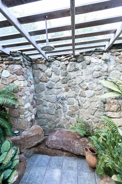 Villa master shower