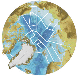 Figure 1: Proposed multi-national cruise sections for the one-year Synoptic Arctic Survey (SAS). Source: SAS Science Plan