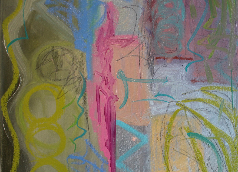 Just Happend Acrilic on canvas   24 x 24