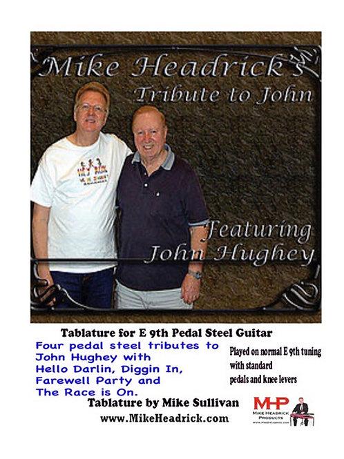 John Hughey Tribute Tab Package