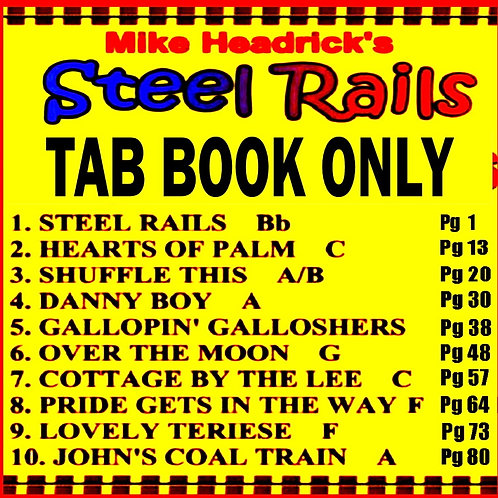 Steel Rails Tab Book Only