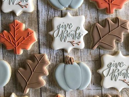 Fall Cookies Ideas!