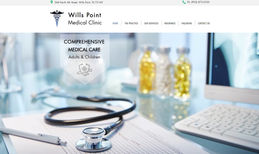 Wills Point Medical Clinic Classic Website Design