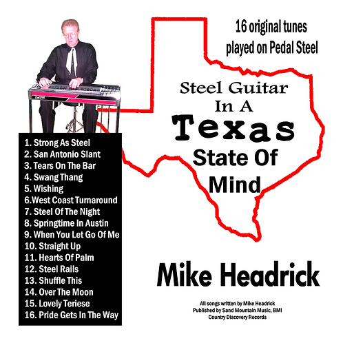 Steel Guitar In A Texas State Of Mind