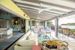 Moondance Villa open air living area