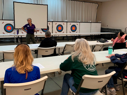 Group Training event at The Well Armed Woman Chapter in Sahuarita, AZ.