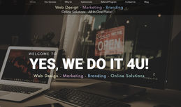 Yes We Do It 4U! Web Design + Online Advertising Services