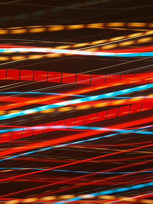 צילום אמנותי של פקק תנועה