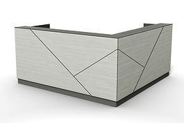 axis reception desk, design tile line C