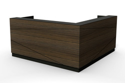 axis reception desk, design tile line B