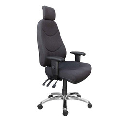 altas with arms and headrest