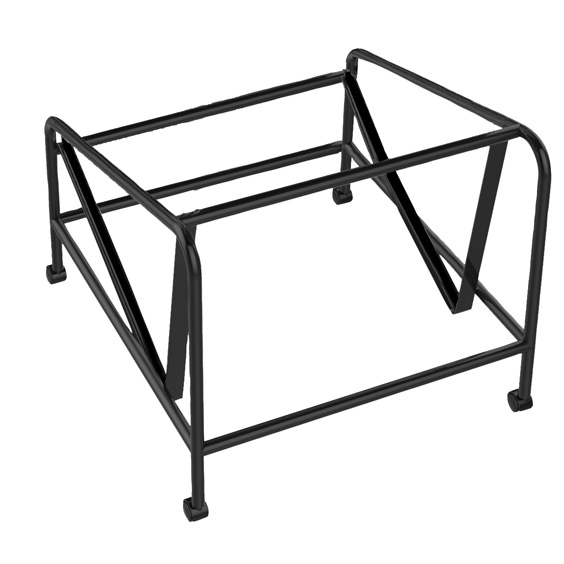 Vinn visitor chair trolley for storage