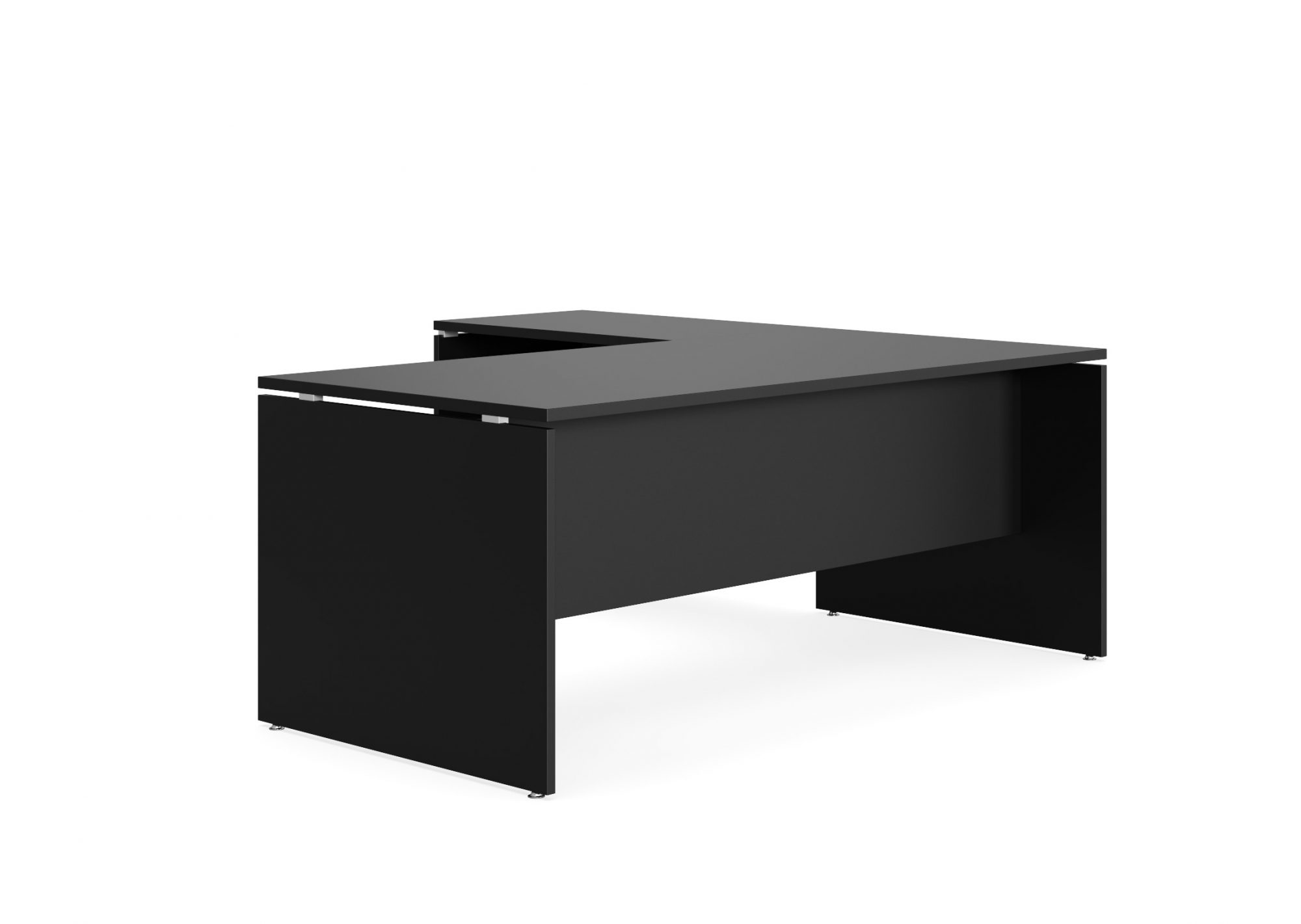 silhouette executive desk
