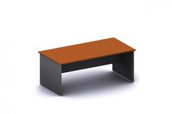 slab end desk