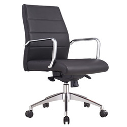 cruz low back chair front view