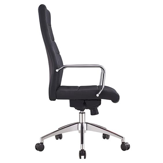 cruz high back chair side view