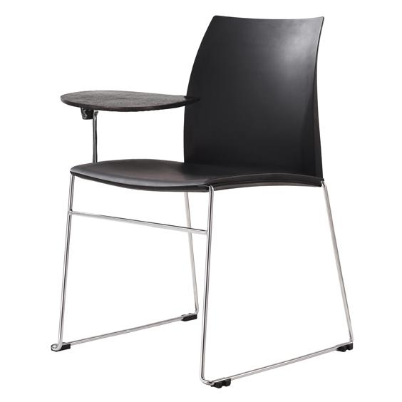 vinn training chair with sled base & tab