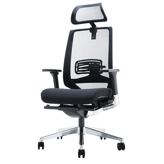 evita high back with headrest
