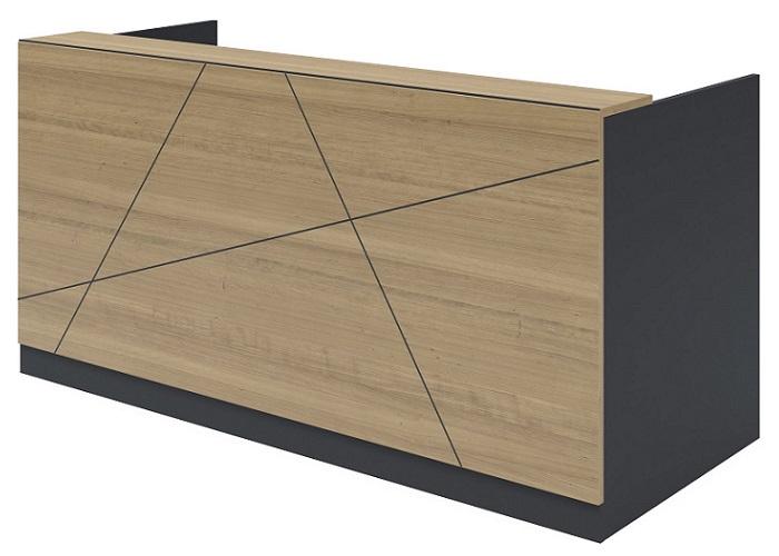 axis reception desk, design tile line A