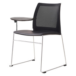 vinn training chair with mesh back, sled