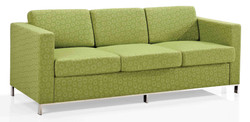 Montage triple seater soft seating with