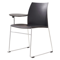 Vinn visitor chair with tablet arm