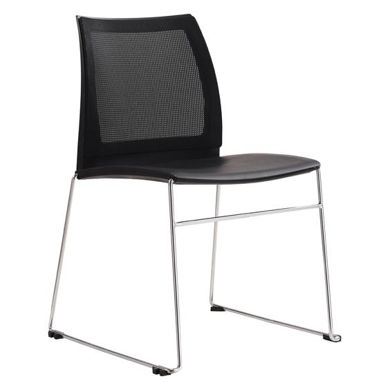 Vinn visitor chair mesh back