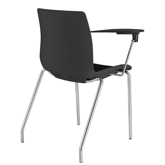 pdo chair with 4 legs and tablet
