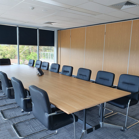 'Thank you, for a big job, done well on your part'.  Greg - Bioproperties   To supply office furniture for 3 floors, tea room, storage, workstation and seating.