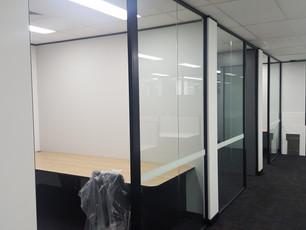 9. Black aluminium frames