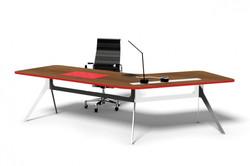 delta nouveau 120 executive desk