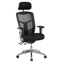 oyster high back with headrest