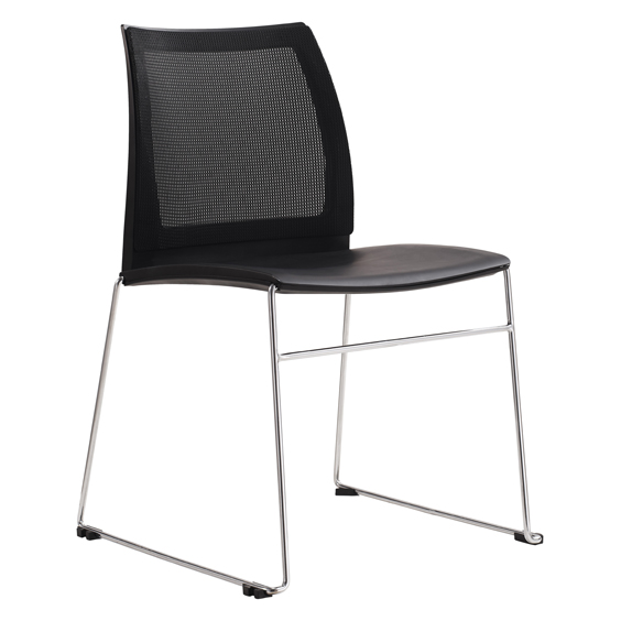 vinn chair with mesh back