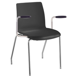 POD visitor chair with 4 legs and arms