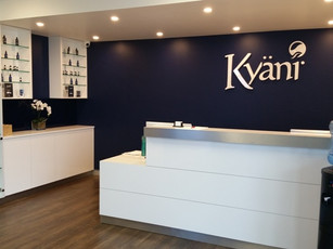 1. Client - Kyani: high gloss Laminex with stainless steel details
