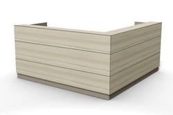 asix reception desk, design tile line E