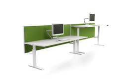 direction 35 screen system in green