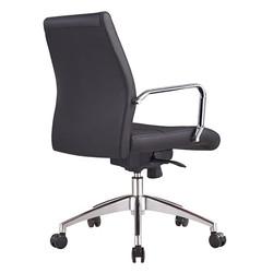 cruz low back chair back view