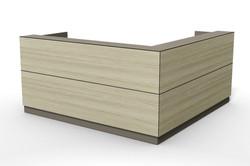 axis reception desk, design tile line De