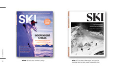 Ski Covers, old and proposed
