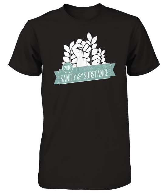 Sanity & Substance t-shirt