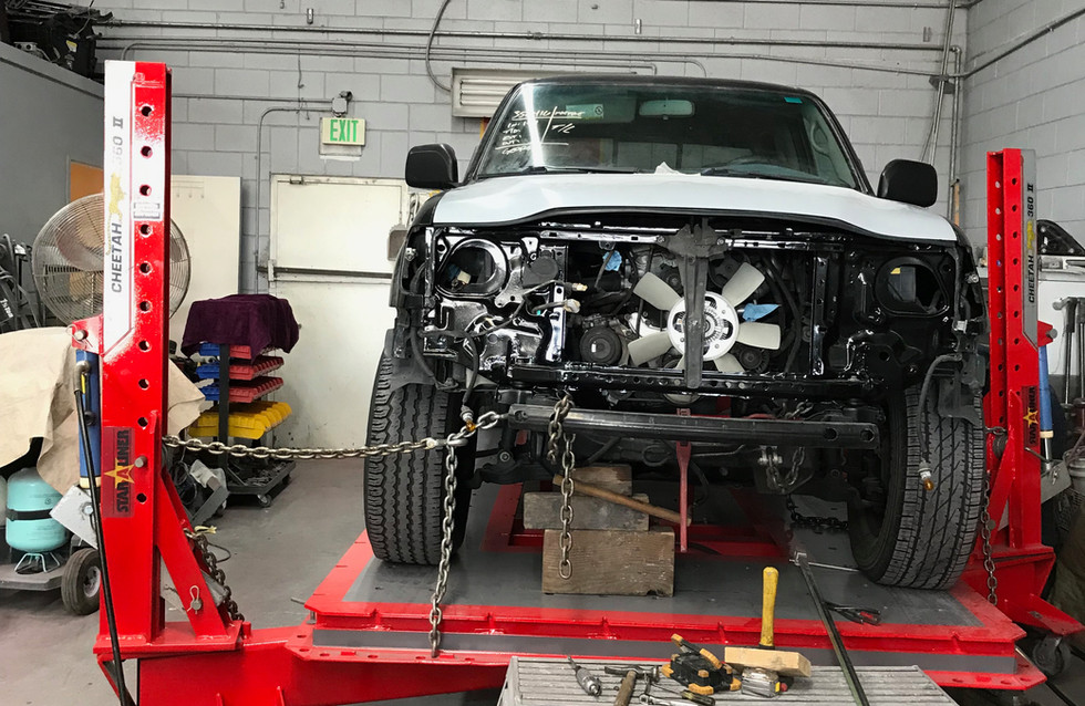 Frame Rack to ensure any vehicle is up to OEM standards