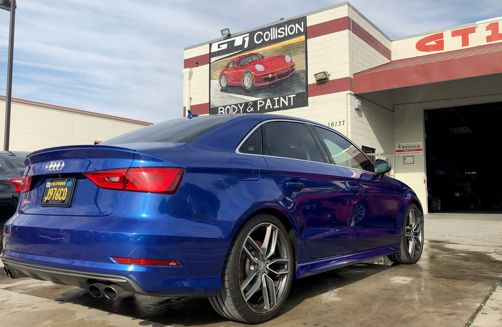 Audi S3 repairs completed