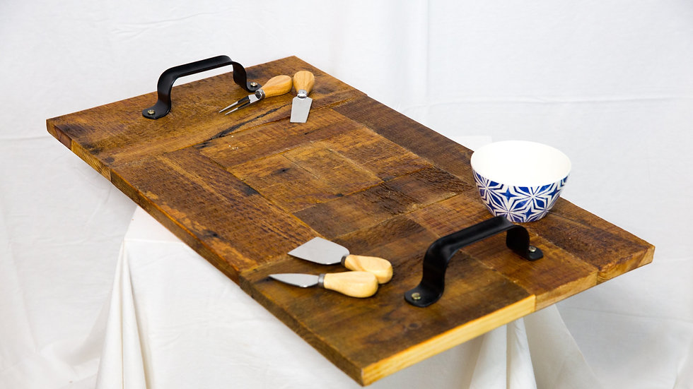 Ted's Lancaster Barnwood Breakfast-in-Bed Tray
